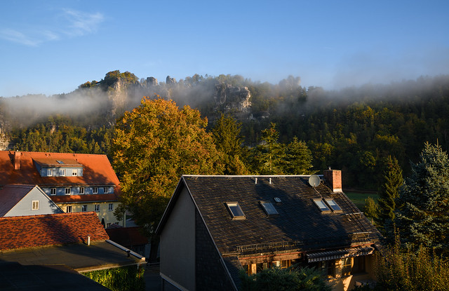 Morning in Bastei