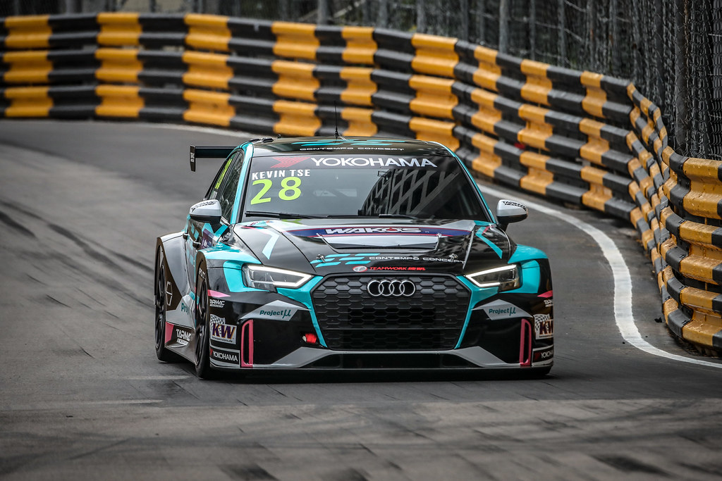 28 TSE WING KIN Kevin (MAC), Team Work Motorsport, Audi RS 3 LMS, action during the 2018 FIA WTCR World Touring Car cup of Macau, Circuito da Guia, from november  15 to 18 - Photo Alexandre Guillaumot / DPPI