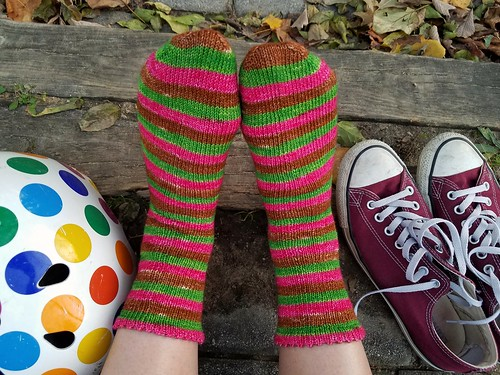 Azalea Socks Out and About