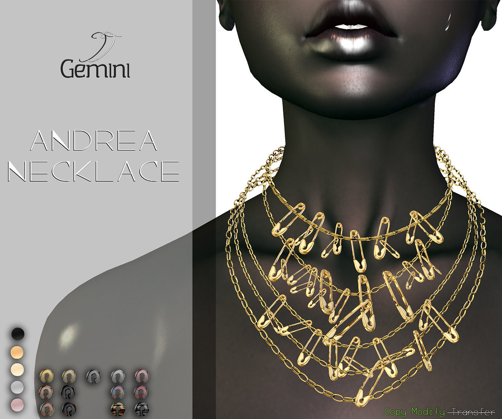 •Gemini -Andrea Necklace- @ Dubai Event Nov Round•