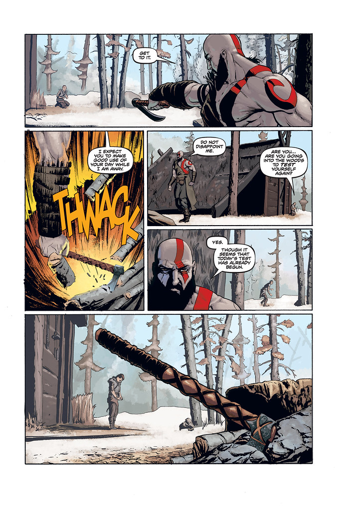 God of War prequel comic: Page 3