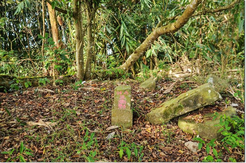 阿里關山冠字次山(05)山字森林三角點(Elev. 760 m) 2