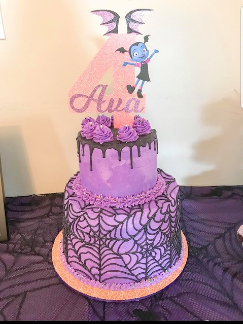 Vampirina Theme Cake by Donna Weber Ryan