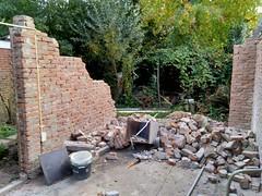 Muren gesloopt, 11 oktober 2018