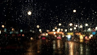 Night driving ...