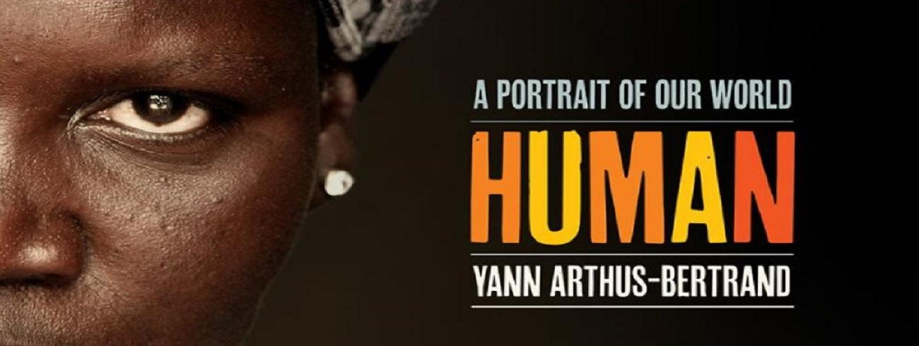 front cover of HUMAN by Yann Arthus-Bertrand.