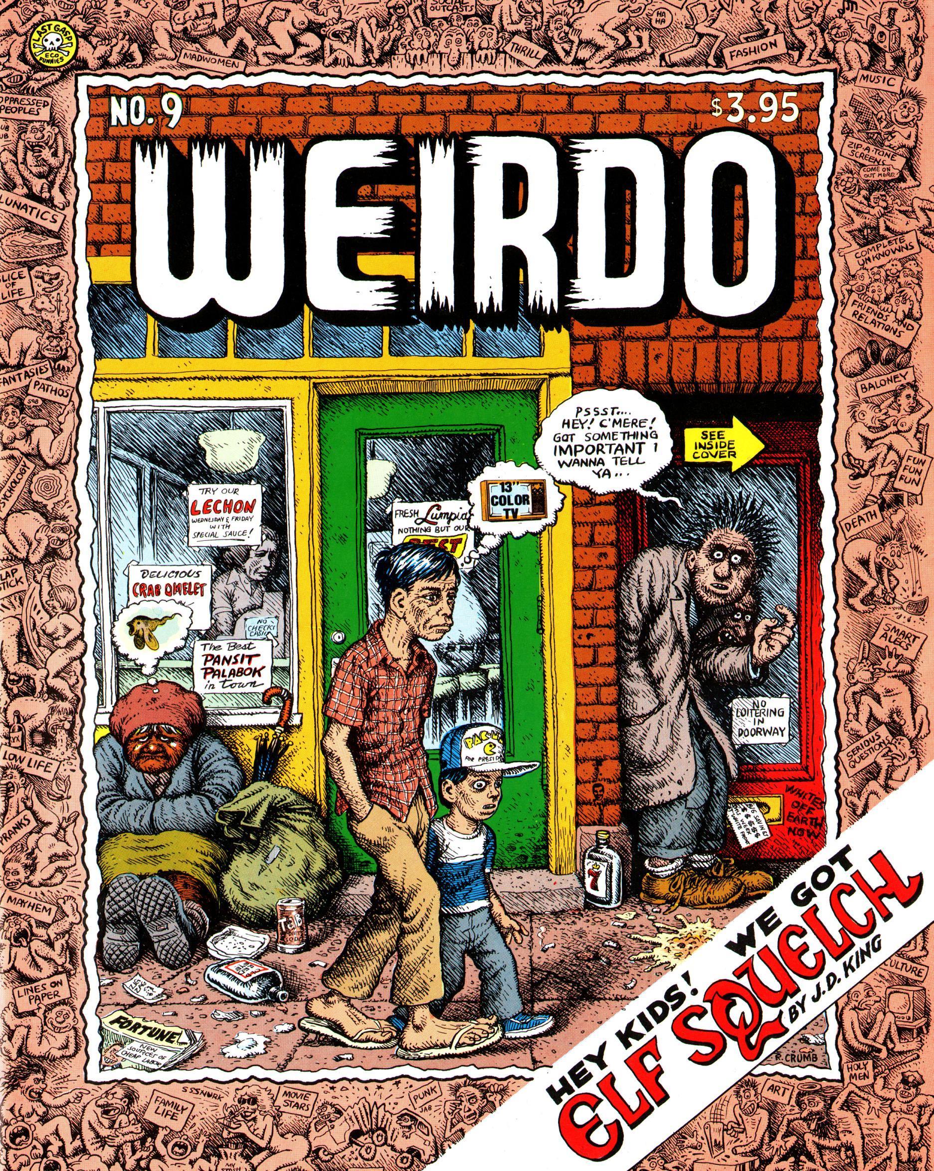 Weirdo #9 - Страница 1