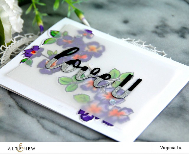 Altenew-RuffledFlowersStampDie-Virginia#8