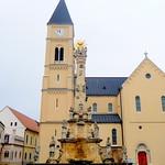Veszprém HU - Dreifaltigkeitsplatz - St. Michael Kathedrale - Veszprém