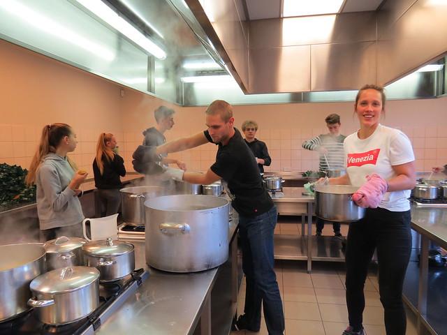 Spaghettiweekend brengt 19 000 EUR op!