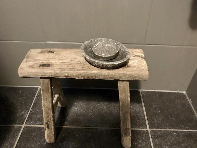 Krukje toilet landelijke stijl