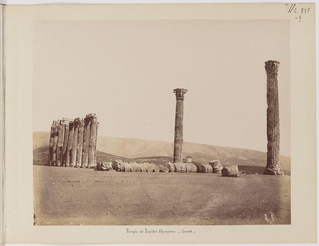 Альбом из 21 фото. из Афин и Пирея в 1880 году, подарок доктора Фювьера-16