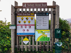 Yachats Ocean Road State Natural Site Sign, Yachats, Oregon