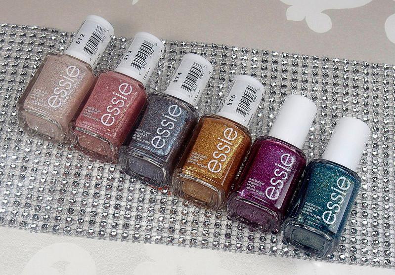 Essie Concrete Glitters Swatches