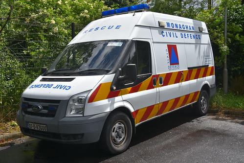 Monaghan Civil Defence 2007 Ford Transit LWB GPV 07D83600