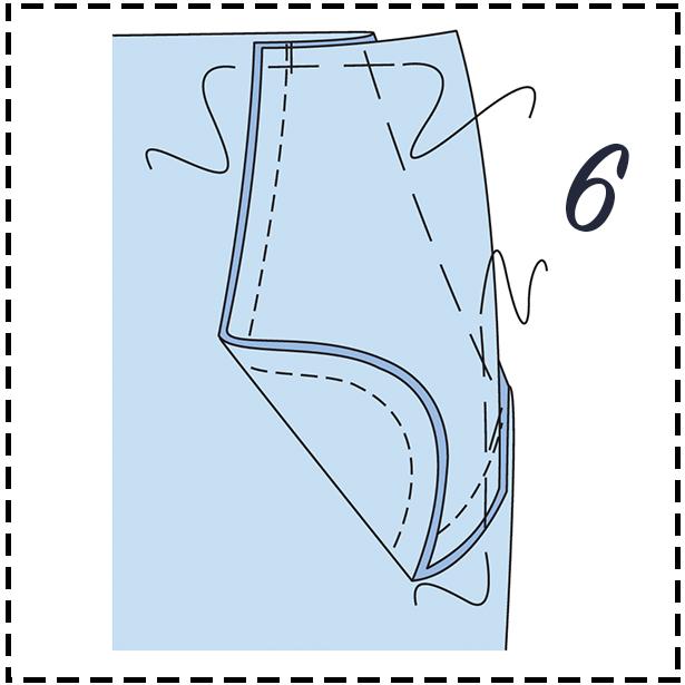 Pant Step 6
