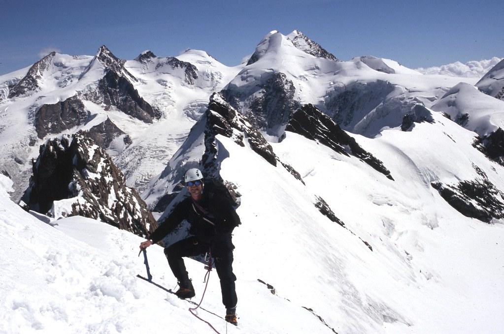 Guided Alpine Rock Climbing In The Swiss Alps Matterhorn