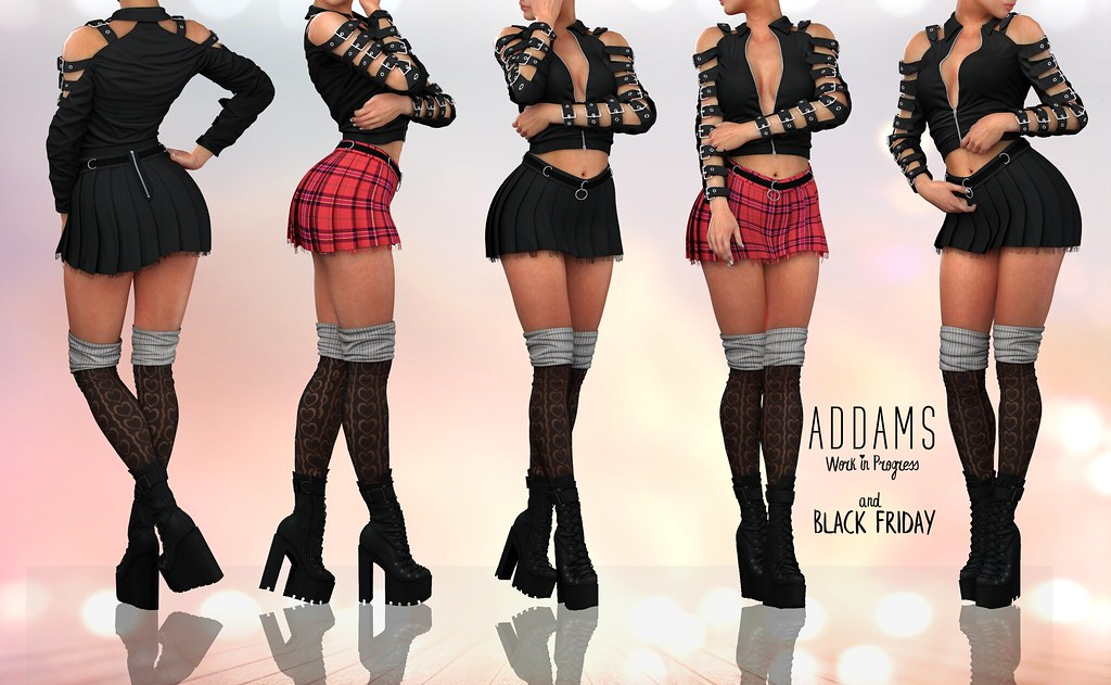 ADDAMS GIVEAWAY + BLACK FRIDAY SALE