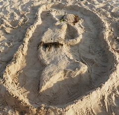 Mermaid In The Sand