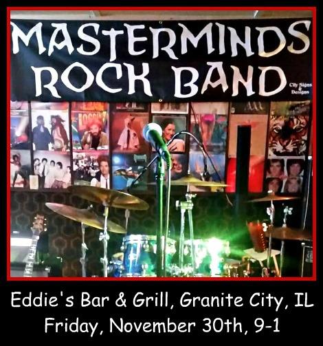 Masterminds Rock Band 11-30-18