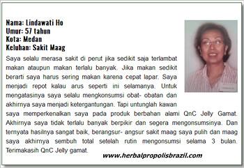 Testimoni QnC Jelly Gamat atasi penyakit Maag