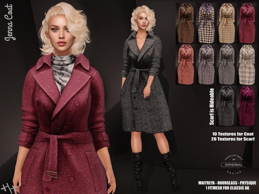 Hilly Haalan – Jenna Coat