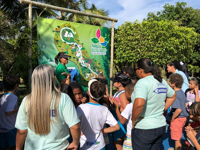 Turno Integral no Parque Ecológico