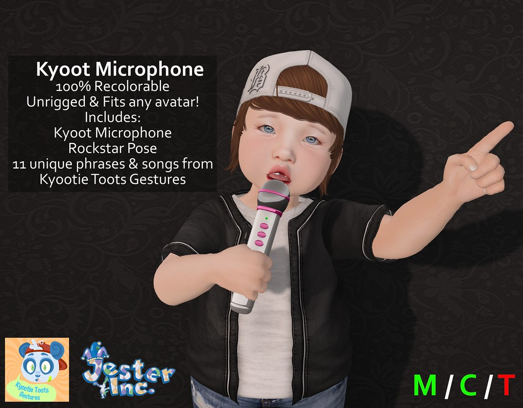[Jester Inc.] Kyoot Microphone!