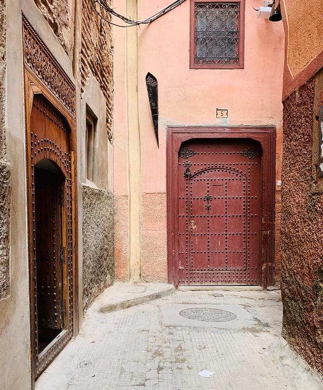 Portoni dei riad a Marrakech