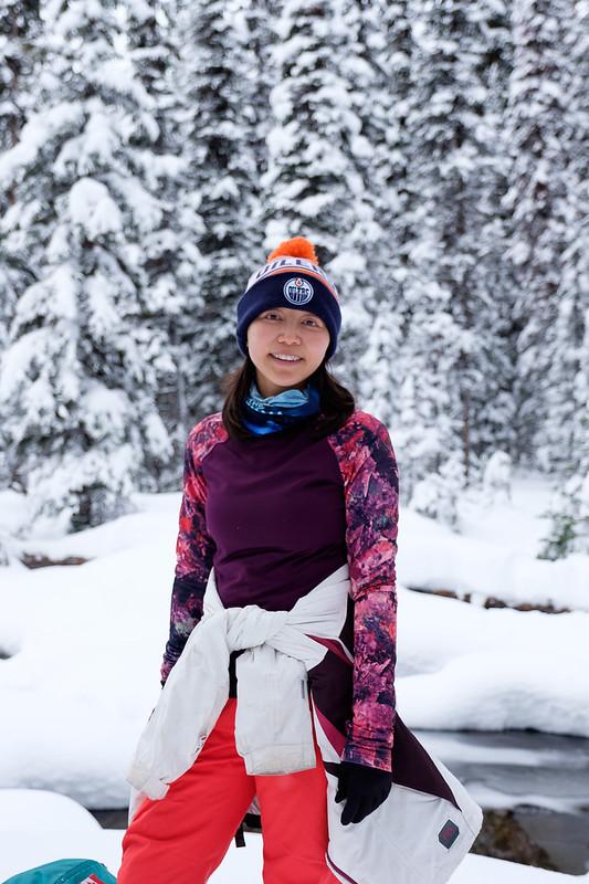 Snowshoeing - Rawson Lake - Jan 2019-8