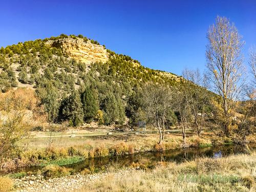 Río Cega en Pajares de Pedraza, Segovia.
