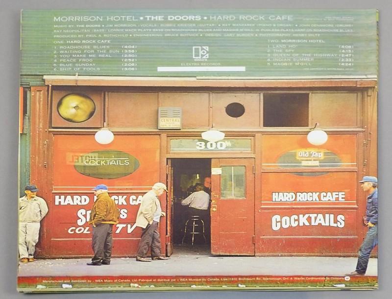 A0054 Doors Morrison Hotel Canada
