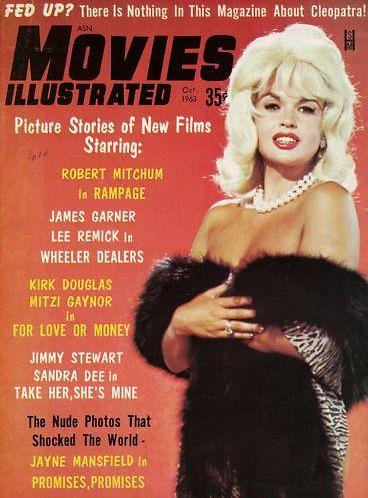 Jayne Mansfield - Movies Illustrated
