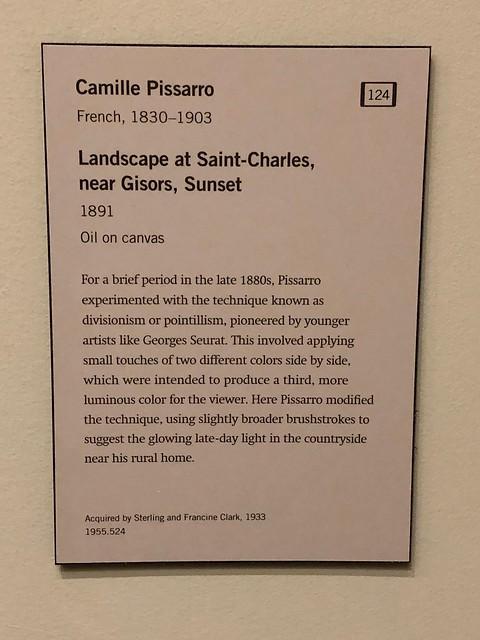 Camille Pissarro - Landscape at Saint-Charles, near Gisors, Sunset - 1891 2