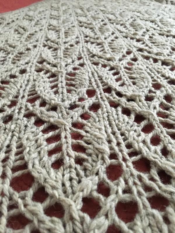 Sylvia McFadden, Some Time Alone shawl