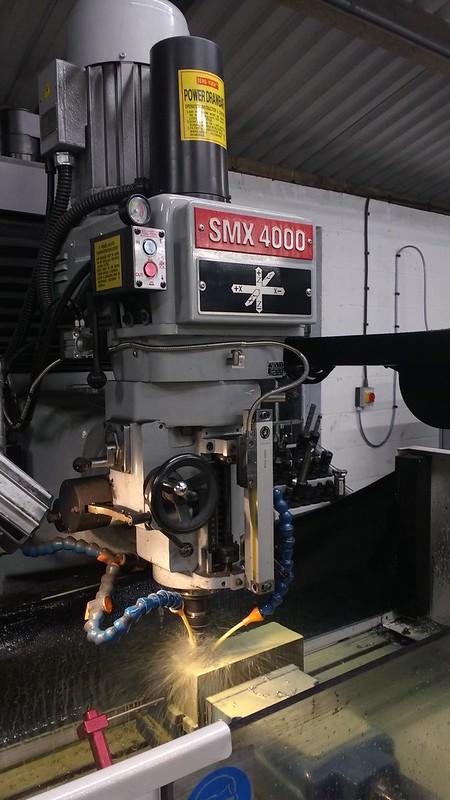 Milling Axlebox Slipper Jig