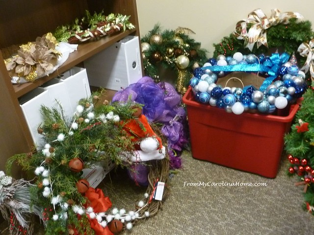 Christmas Wreath at FromMyCarolinaHome.com