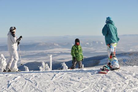 První lyžování letošní sezóny ve SKiMU!
