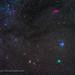 Colourful Comet Wirtanen in Taurus