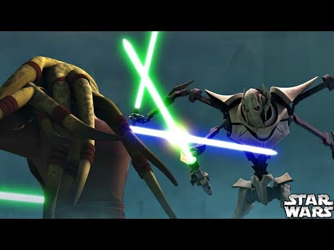 Why Kit Fisto Was Able to Defeat General Grievous Star
