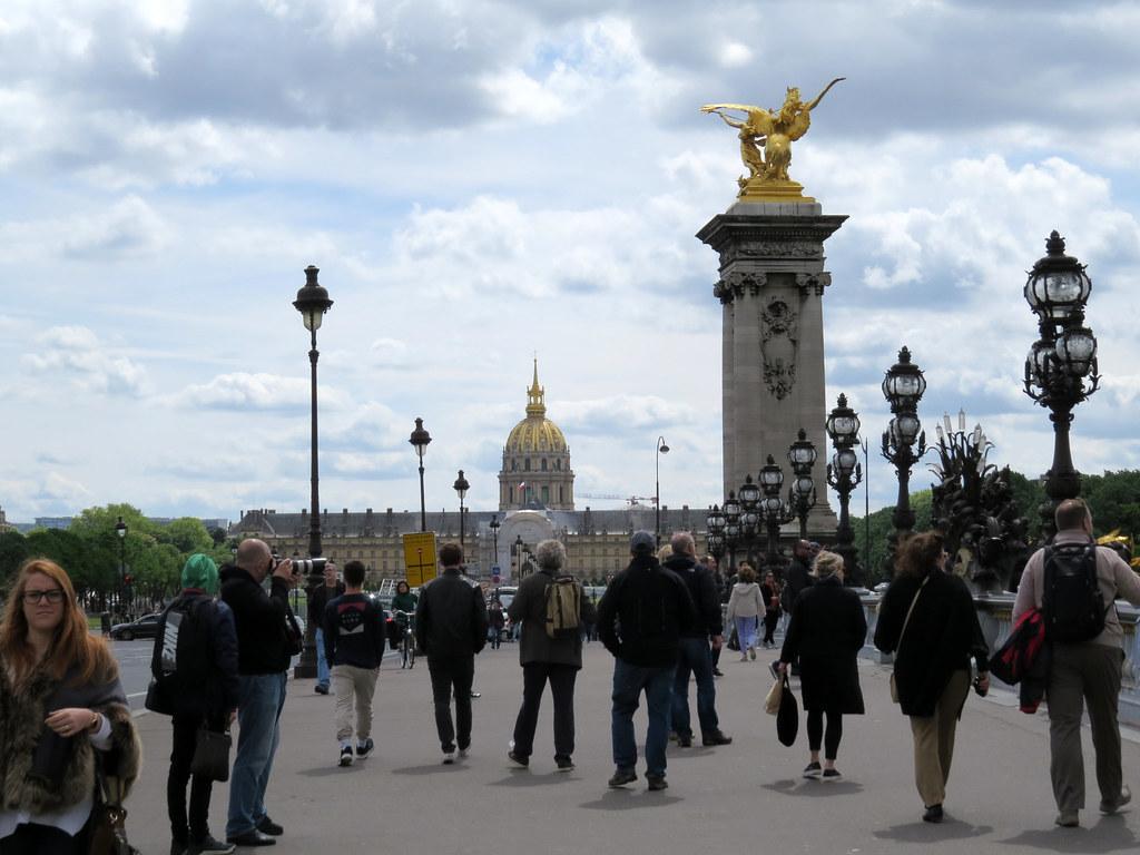 Мост Александра III и Дом инвалидов