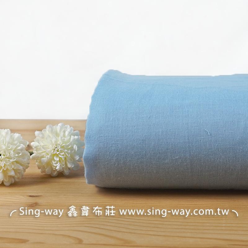 素面雙層紗 雙重紗 雙層紗 嬰兒紗布衣 手帕 口水巾 布料 二重紗 2C490114