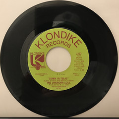 THE UNKNOWN SOUL:DOWN IN TEXAS(RECORD SIDE-A)