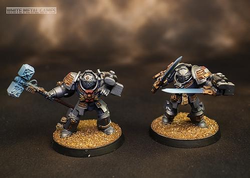 Grey Knights Paladins