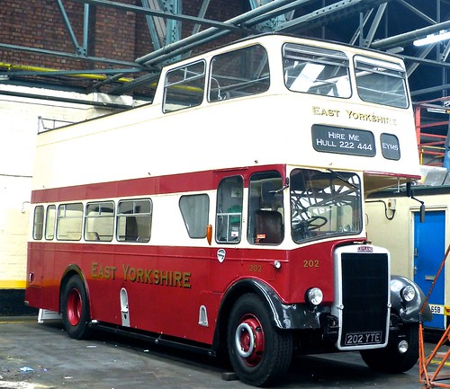 202 YTE 'East Yorkshire Motor Services' No. 202. Leyland PD2/37 / East Lancs on Dennis Basford's railsroadsrunways.blogspot.co.uk'