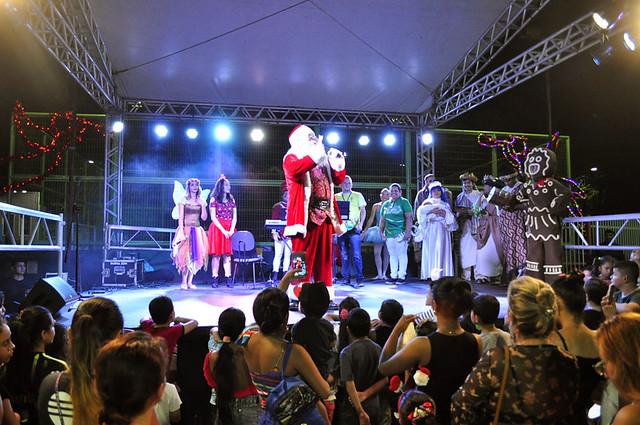 28-11-18 Chegada do Papai Noel no Parque Cidade da Criança
