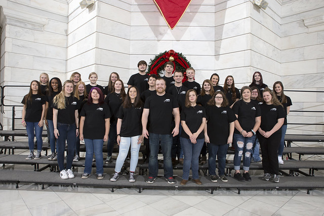 12-3-18 The Hoxie High School Sr High Choir