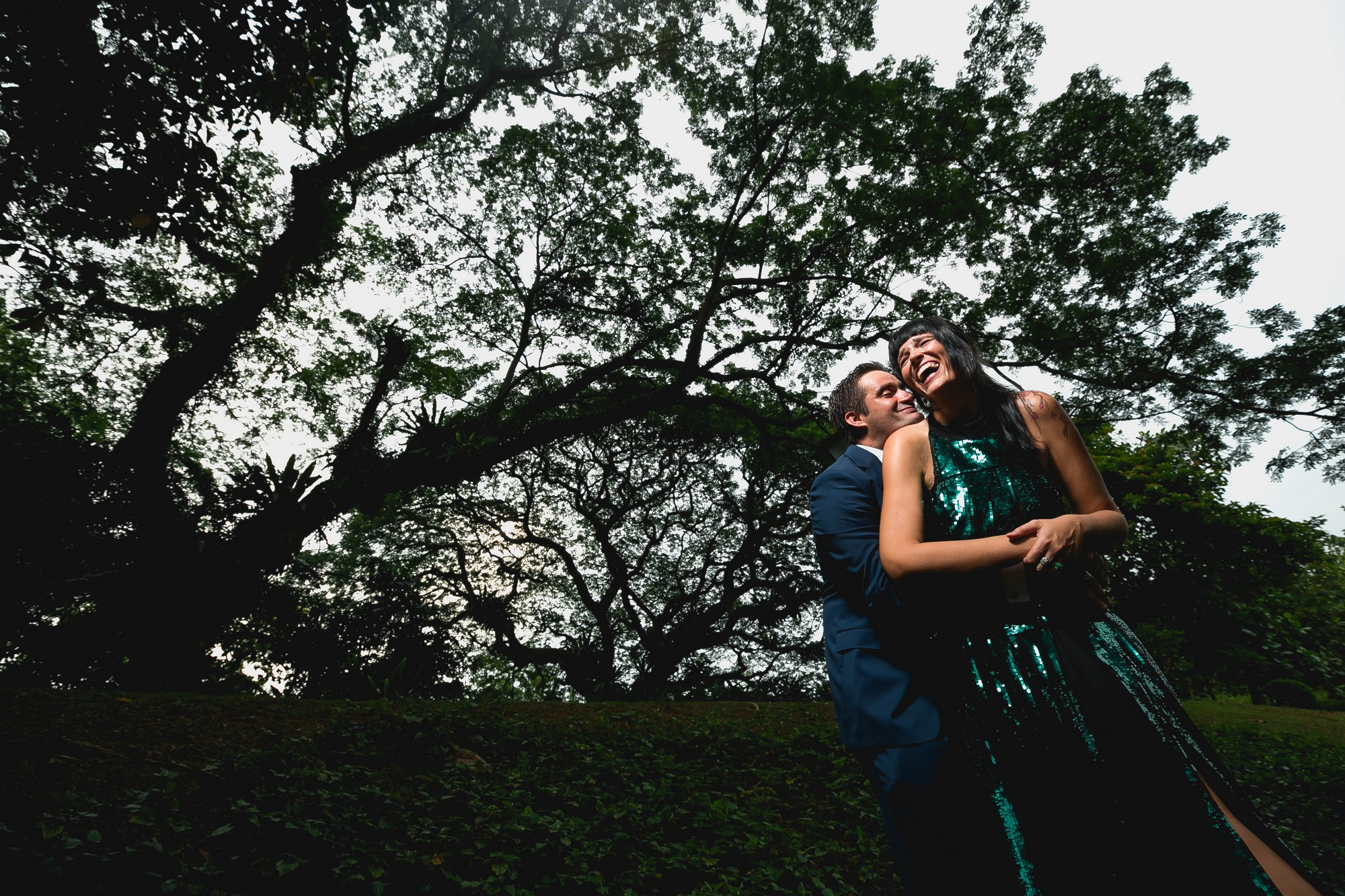 Wedding outdoor photoshoot in Singapore