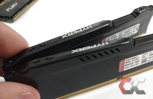 HyperX Fury DDR4 review overcluster 6