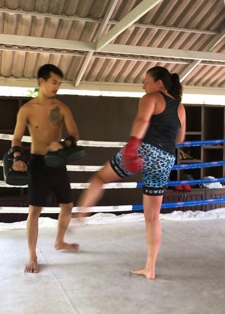 Thai boxning